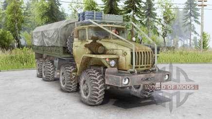 Ural 6614 8x8 para Spin Tires