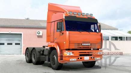 Kamaz 6460 para American Truck Simulator