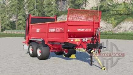 SIP Orion 120 TH manure spreader para Farming Simulator 2017