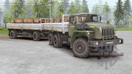 Ural 4320, 5453, 5557, 6614, 43206, 44202 para Spin Tires