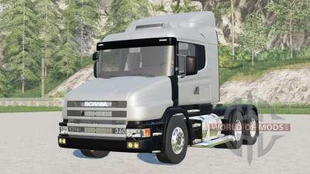 Scania T124G 2004 para Farming Simulator 2017