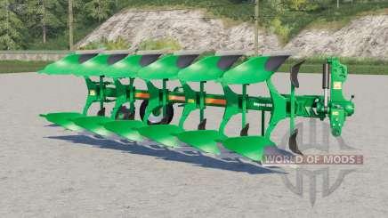 Amazone Cayron 200 reversible plough para Farming Simulator 2017