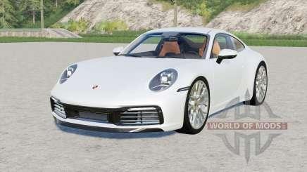 Porsche 911 Carrera 4S (992) 2019 para Farming Simulator 2017