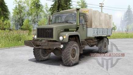 Gaz 3308 Sadko e Gaz 33081 Ranger para Spin Tires