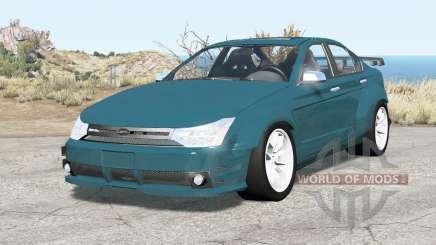 Ford Focus sedan (NA2) 2008 v2.01 para BeamNG Drive