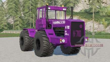 Módulos de ganso kirov K-710〡 para Farming Simulator 2017