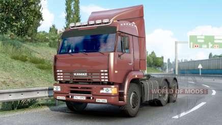 Kamaz 6460〡s sons para Euro Truck Simulator 2