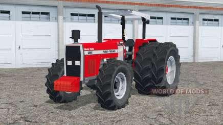 Massey Ferguson 2680〡dual rodas traseiras para Farming Simulator 2015
