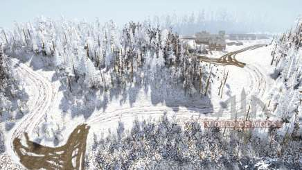 Tileꜱ de neve para MudRunner