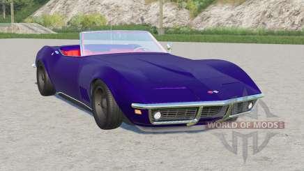 Chevrolet Corvette convertible (C3) 1968 para Farming Simulator 2017