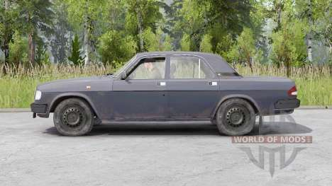 Gaz 3110 Volga 1997 para Spin Tires