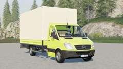 Mercedes-Benz Sprinter 4x4 pritschenwagen longo〡com paletes e fardos de carga automática para Farming Simulator 2017
