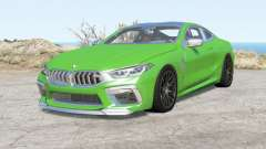 BMW M8 Competition coupe (F92) 2019 para BeamNG Drive