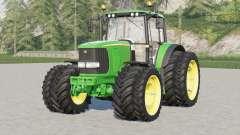 John Deere 6020 série〡Aloe frontloader console para Farming Simulator 2017