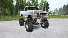 Ford Bronco Ranger XLT 1978〡lifted para MudRunner