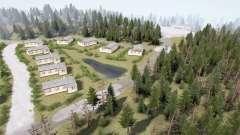 Distrito Florestal 3 v1.3.5 para MudRunner