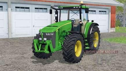 John Deere 8360R〡traces de rodas para Farming Simulator 2015