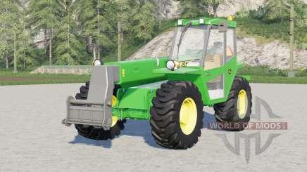 John Deere 4500〡4 configurações da marca de pneus para Farming Simulator 2017