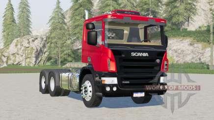 Eixo Scania P420 de 2 eixos〡3 eixos para Farming Simulator 2017