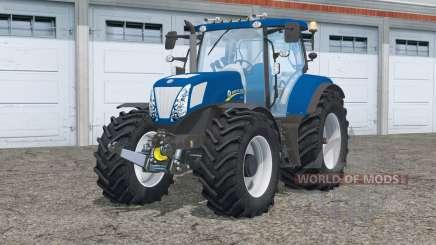 Iluminação 〡 nova Holanda T7.270 para Farming Simulator 2015