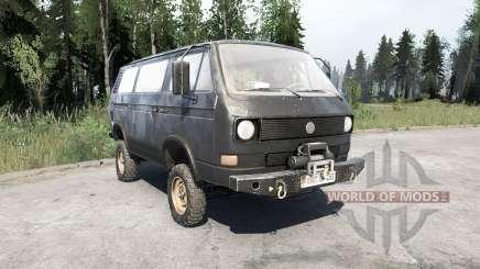 Volkswagen Transporter (T3) 1982 para MudRunner