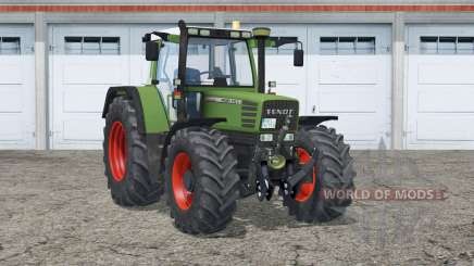 Fendt Favorit 500 C Turbomatik para Farming Simulator 2015