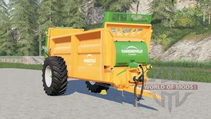 Dangreville SVL18〡rear iluminação alterada para Farming Simulator 2017