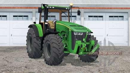 John Deere 8370R〡novas rodas para Farming Simulator 2015