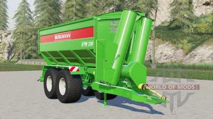 Bergmann GTW 330 para Farming Simulator 2017