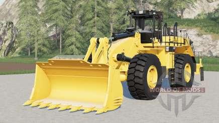 Caterpillar 992K para Farming Simulator 2017