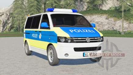 Volkswagen Transporter Kombi (T5) 2009〡Emergência v2.0 para Farming Simulator 2017