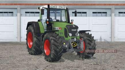 Fendt 820 Vario TMS〡extra pesos em rodas para Farming Simulator 2015