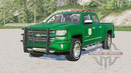Chevrolet Silverado 1500 Cabine Dupla (GMTK2) 201〡6 para Farming Simulator 2017