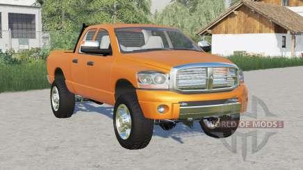 Dodge Ram 2500 Quad Cab 2006 para Farming Simulator 2017