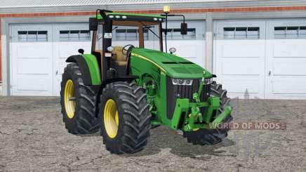 Velocímetro 〡digital John Deere 8370R para Farming Simulator 2015