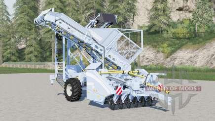 Grimme Rootster 604〡descodam de capacidade para Farming Simulator 2017