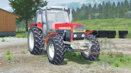 Portas 〡 abertura ursus 1614 e janela traseira para Farming Simulator 2013