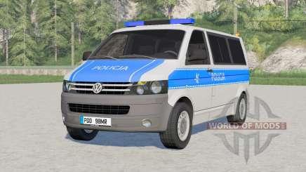 Volkswagen Kombi Transporter (T5) 2009〡Emergência para Farming Simulator 2017