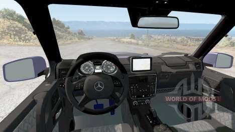 Mercedes-Benz G 65 AMG (W463) 2015 para BeamNG Drive