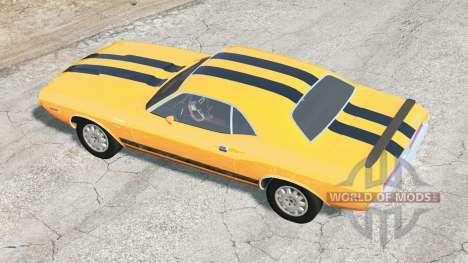 Dodge Challenger RT 440 Six Pack (JS-23) 1970 para BeamNG Drive