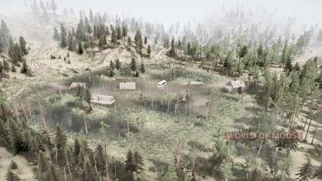 Terras agrícolas na taiga para Spintires MudRunner