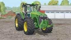 John Deere 8530〡a suspensão dianteira para Farming Simulator 2015