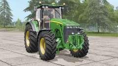 John Deere 8030 série〡silenced cabine para Farming Simulator 2017
