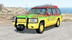 Gavril Roamer Tour Car Jurassic Park v5.0 para BeamNG Drive