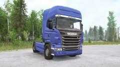 Scania R730 4x4 Topline Cab 2010 para MudRunner