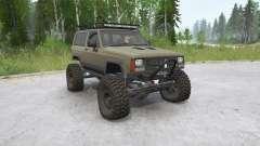 Jeep Cherokee 2 portas (XJ) 1993〡off-road para MudRunner