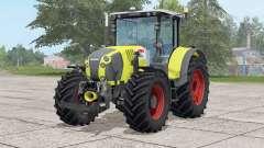 Claas Arion 650〡trabalho dianteiro e traseiro para Farming Simulator 2017