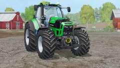 Deutz-Fahr 7250 TTV Agrotron〡a animação para Farming Simulator 2015