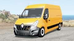 Renault Master L2H2 Van 2018 para BeamNG Drive