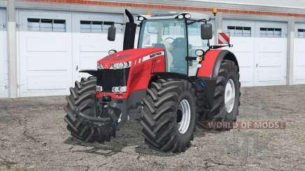 Massey Ferguson 8737〡a abertura para Farming Simulator 2015